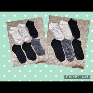 12 pair NEW no show socks